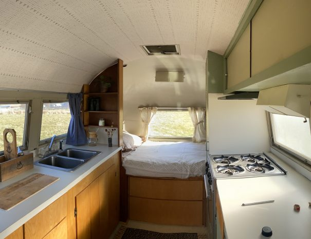 Stay in a Vintage Airstream in Montana
