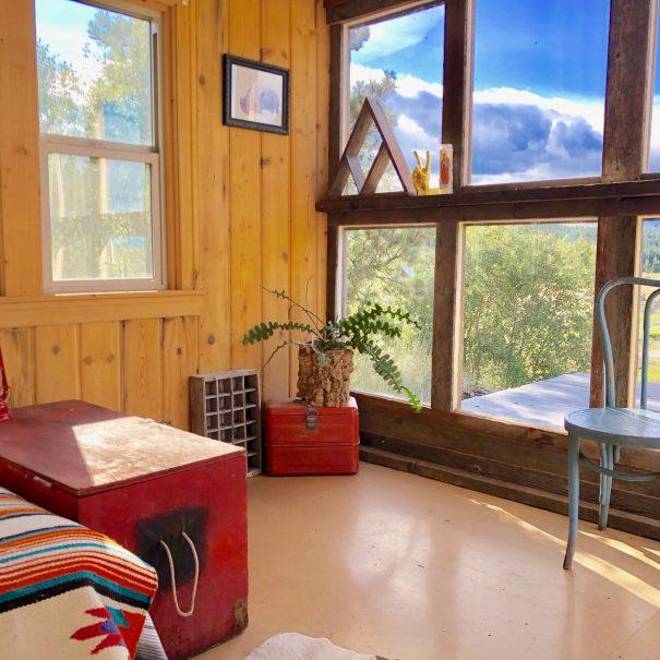glamping cabin eureka montana