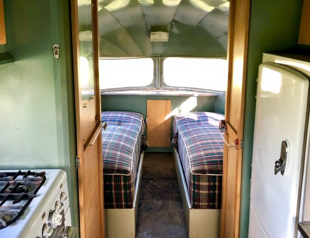 Vintage Airstream for rent