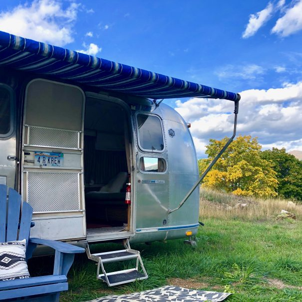 Vintage Airstream Land Yacht for rent