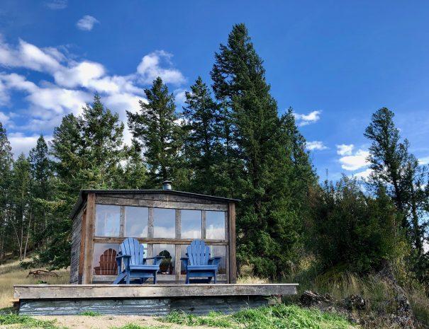 Rustic Glamping Cabin Montana