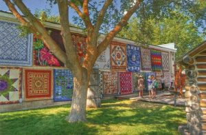 The Eureka Quilt show draws folks from all over the world